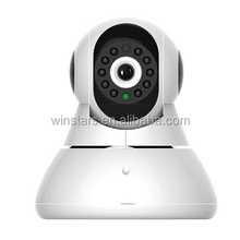 Pan-Tilt 720P Rotatable Wireless/Wires Surveillance Cloud Network IP Camera