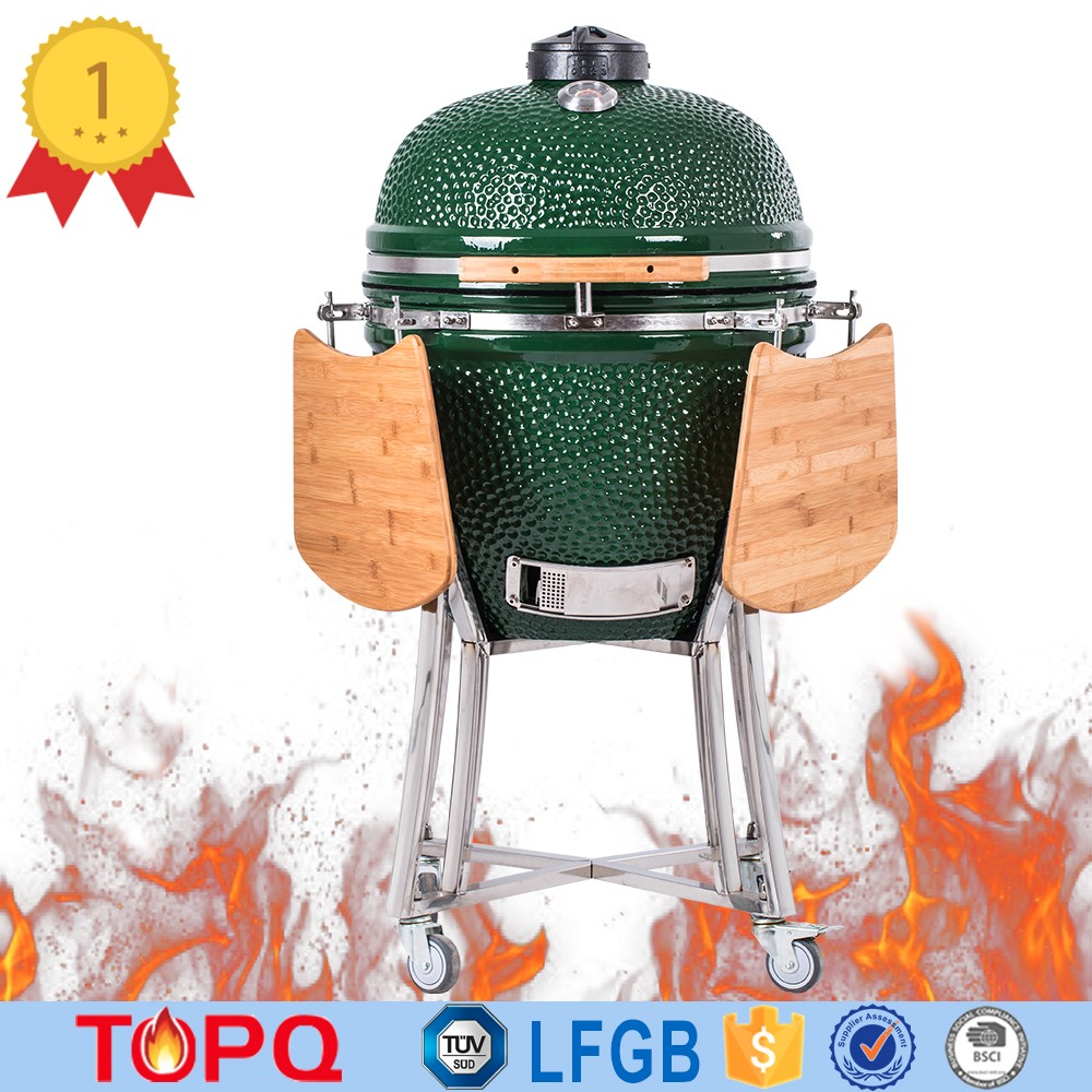 Ancient Design Glaze Ceramic Built Outdoor Kamado Grill