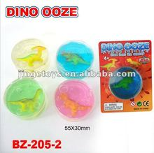 Dino ooze putty toy