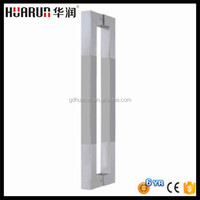 Foshan 25*25mm Stainless steel chrome square pull door handle