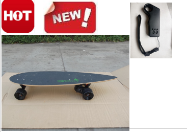 high quality electric skateboard 2018 new scooter