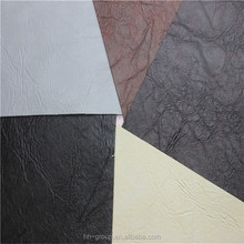 PVC vinyl artificial leather for sofa / pvc synthetic leather for sofa in egypt market