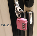 Hot selling Manufacturer Supplier factory directly tsa code small padlock. lock and key padlocks heavy duty