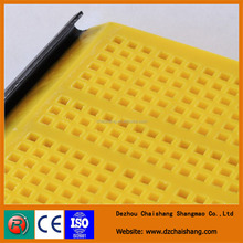 China high quality and long time using vibrating screen mesh,polyurethane modular screen mesh mine use