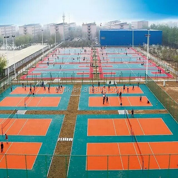 Portable Modular Mobile Interlocking PP Outdoor Mini Basketball Court Sports Flooring