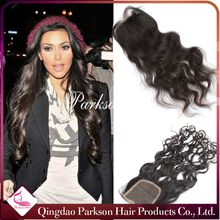 Parkson hair Cheap Hair Closure lace free parting lace closure 12-30 inch lace closure