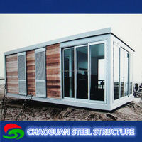 Low price Fast Assembled prefabricated small wooden house timber frame homes modular house