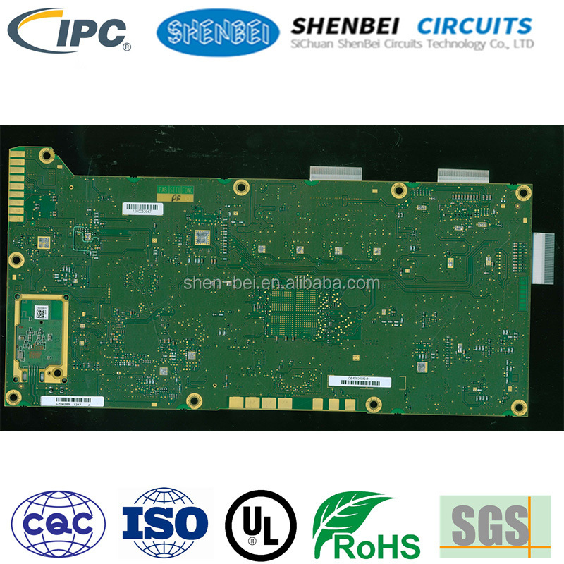 Multilayer Double Layer PCB UL certificated FR4 PCB High Technology OEM Microwave mini pcb camera