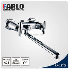 FUAO wall mounted UPC single handle bathtub faucet