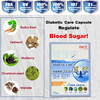 100% natural china best seller 350mg/cap*72caps/bottle health tonic for diabetes dietary supplement normal blood sugar levels