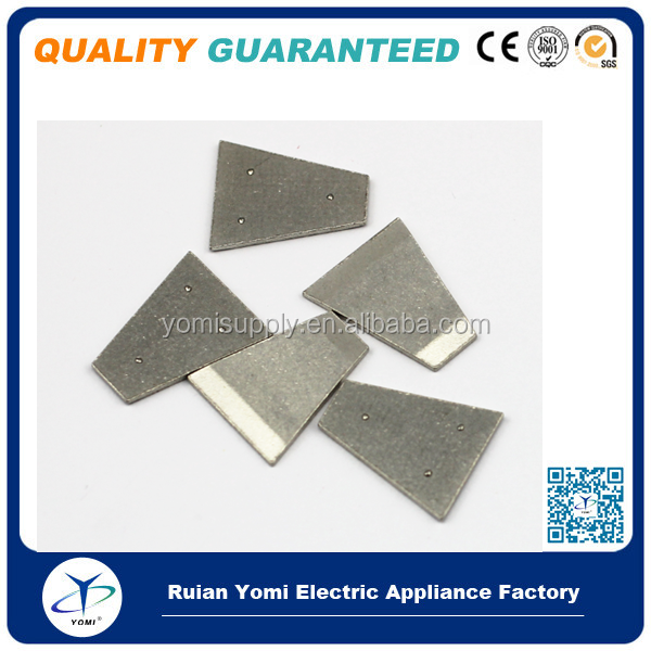 Yomi Specialize in Breaker Electrical Contact for 29years electro contact material silver tungsten carbide composition