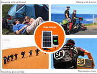 Portable travel flexible solar charger phone solar power station solar panel charger