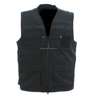 Security Protection Black Military Tactical Vest