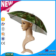 2016 New design outdoor Fishing Hat Umbrella