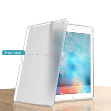 New Ultra Slim Shockproof Matt soft tablet case Protective TPU Frosted Back Transparent Cover Case for iPad Mini 4