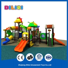 Fashion style kindergarten fun play outdoor plastic playground equipment for sale