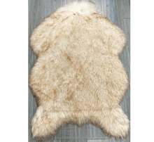 Rabbit high quality faux fur rug