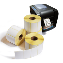 China Wholesale 4''X6'' blank sticker direct thermal label shipping labels rolls