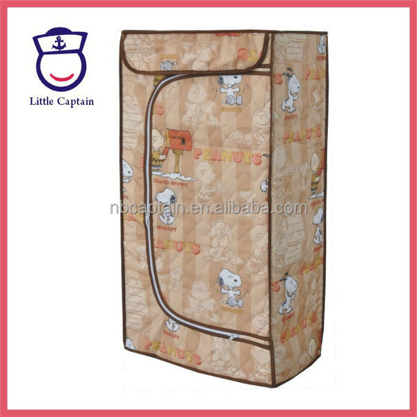 Folding Fabric Plastic Kids Wardrobe cabinet box