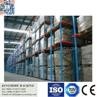 Drive-in drive through racking system heavy duty warehouse storage