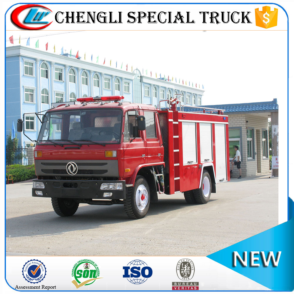 DongFeng 4x2 fire fighting truck fire trucks for sale in europe