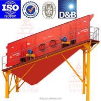 Double Layers Linear Vibrating Screen for ore quarry