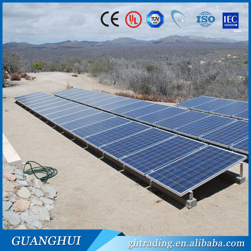 CHINA TOP 10 manufacture high quality solar panel module pv 250w