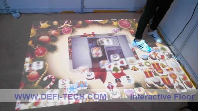 promote product,Interactive floor/wall projection with new effects for Wedding/Advertising 130 effects