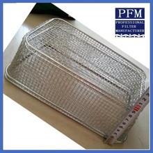 China 304 stainless steel kitchen cooking wire mesh basket
