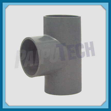 Plastic Pipe Fitting PVC SCH40 Tee (sxsxs) for Water Line