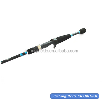 100% Grafito Carbon Spinning Bass Fishing Rod