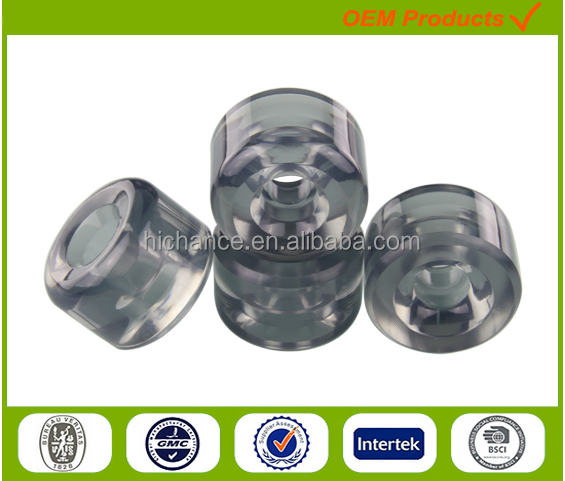 22 27 28 inch cruiser plastic PP or pc skateboard longboard wheels