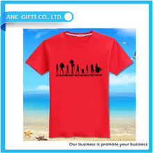 custom design your own stylish free promotion 100% organic cotton t-shirt funny