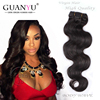 Reasonable price unprocessed 100% 6a body wave 1B color all express brazilian hair