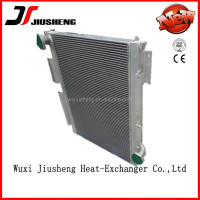 high pressure mini air compressor water to air cooler, compact brazed plate bar heat exchanger in china