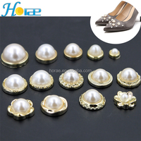 Factory outlets leather rivet ans stud decorative pearl rivet for garment shoe and bag