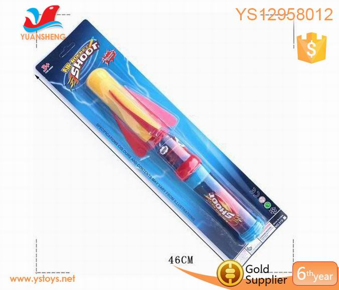 Educational science toys foam rocket air pump rocket toys