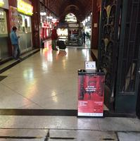 wholesale china goods wet umbrella packer shopping mall furniture