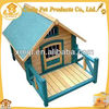 Craft Wooden Dog House Factory Supplied With Balcony Pet Cages,Carriers & Houses