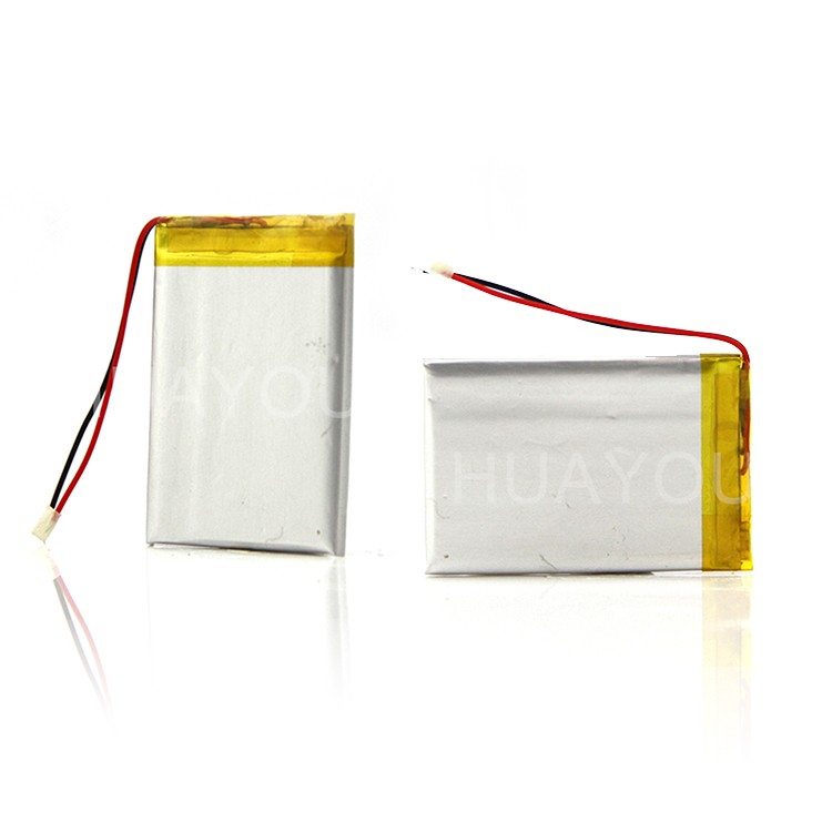 Rechargeable lp 432543 3.7v 400mah battery for electric digital goods