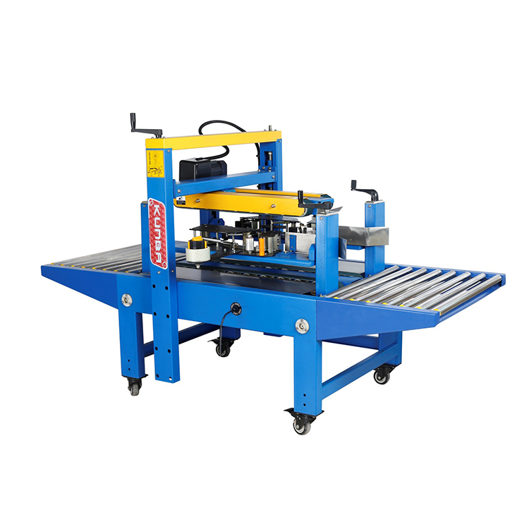 FJ-4042 up-down driven side carton sealer with tape carton box sealing packing machine