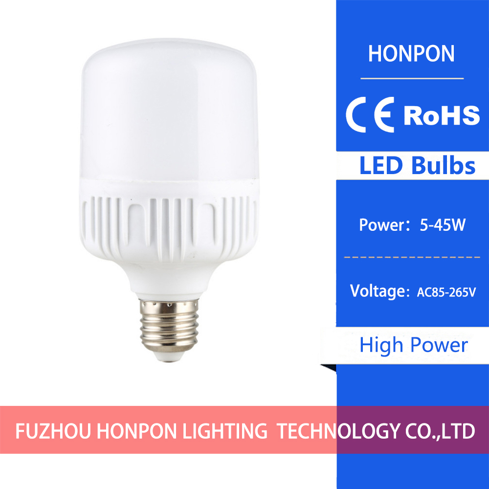 Led high power bulb 5W AC85-265V E27 / B22 anti-mosquito flat head bulb light