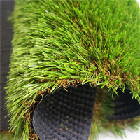 Environmental Friendly Landscaping Synthetic Grass Leisure