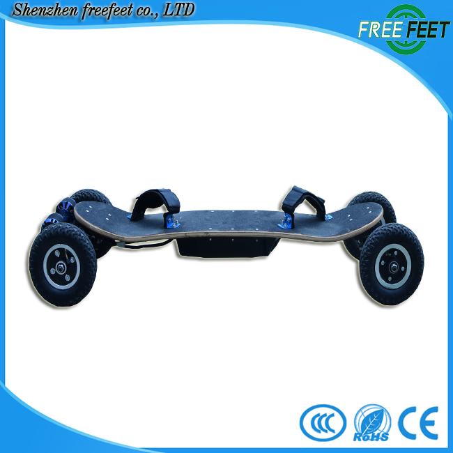 china new fashion cheap price oem two motors 4 wheel smart self balancing ce scooter maple material skateboard