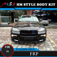Car Bumper Styling Perfect Fitment HM Style Car-Covers Bodykits For BMW X6 Body Kit E71 2009-2011