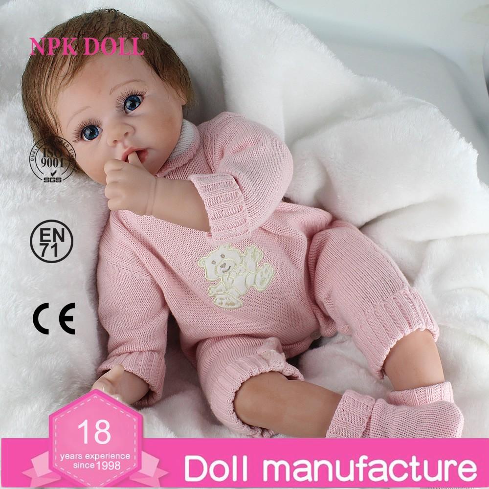 22 Inch 50cm Reborn Baby Doll Fake Baby Real Like Newborn