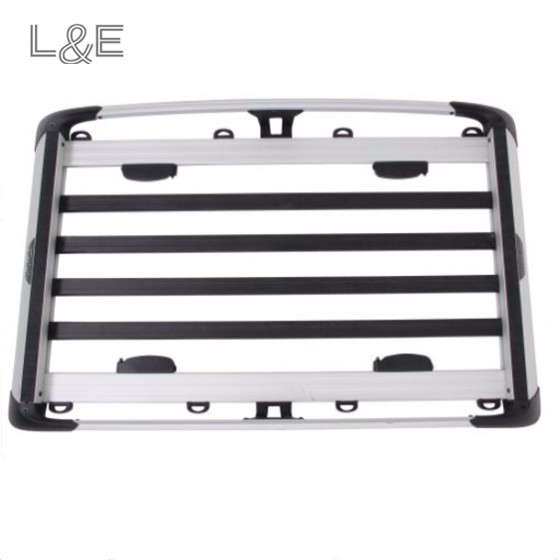 Auto Accessories Aluminum Silver Roof Cargo Basket for Snowboard Carrier