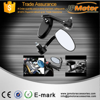JPMotor Cheap Chinese Motorcycle Mirror ,Motorcycle Side Mirror Black Bar End Mirrors Motorcycles With Low MOQ