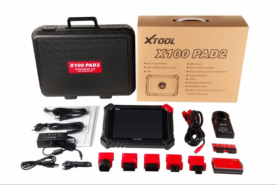 XTOOL X-100 X100 PAD2 Key Programmer Card Renault and VAG IMMO 4 and 5
