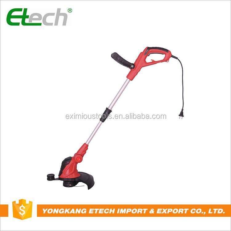 Straight metal blade safety guard brush cutter